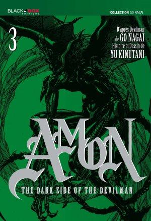 couverture, jaquette Amon - The dark side of the Devilman 3  (Black box) Manga