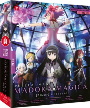 Puella Magi Madoka Magica the Movie Part III : Rebellion édition Édition Limitée - Combo Blu-ray + DVD