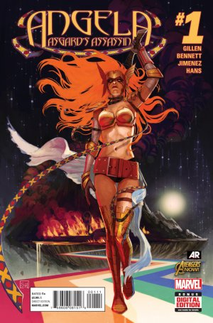 Angela - Asgard's Assassin édition Issues (2014 - 2015)