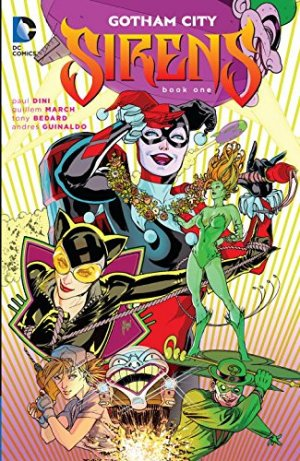 Gotham City Sirens édition TPB softcover (souple)