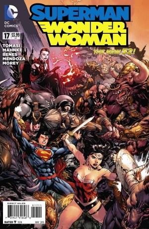 Superman / Wonder Woman # 17 Issues