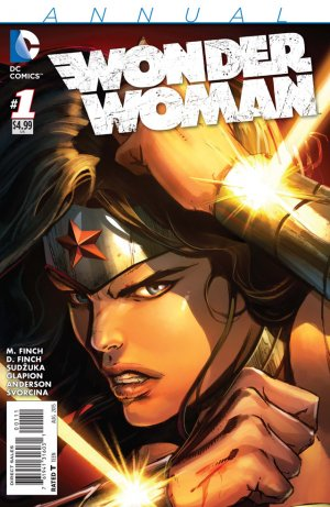Wonder Woman édition Issues V4 - New 52 Annuals (2015)