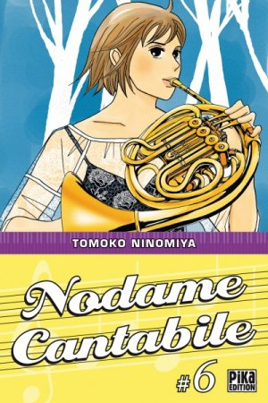 couverture, jaquette Nodame Cantabile 6  (Pika)