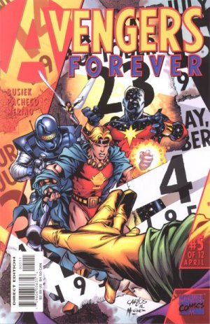 Avengers Forever # 5