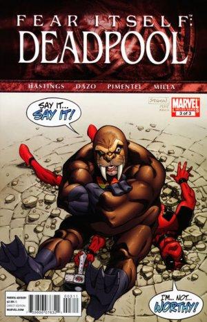 Fear Itself - Deadpool # 3 Issues