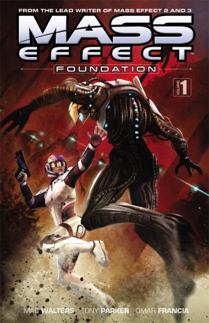 Mass Effect - Foundation édition TPB softcover (souple)