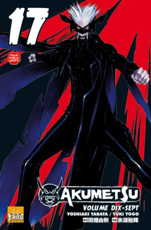 couverture, jaquette Akumetsu 17  (Taifu Comics)