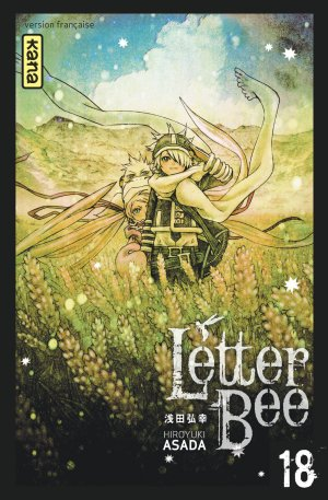 couverture, jaquette Letter Bee 18  (kana) Manga