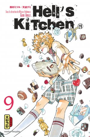 couverture, jaquette Hell's Kitchen 9  (kana)