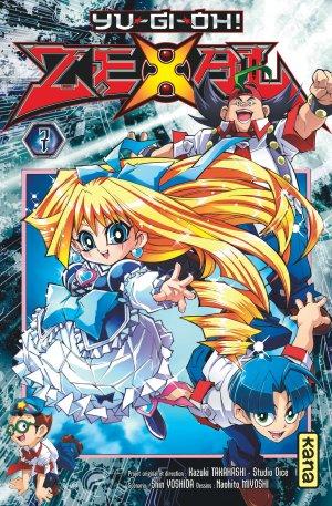 couverture, jaquette Yu-Gi-Oh! Zexal 7  (kana)