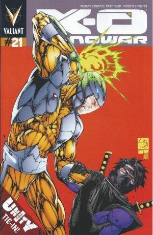 X-O Manowar # 21 Issues V3 (2012 - 2016)
