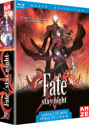 Fate/Stay night édition Absolute Box Blu-Ray (Série TV + Film)
