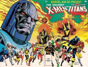 The Uncanny X-Men and the New Teen Titans édition Issue (1982)