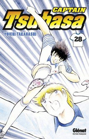 couverture, jaquette Captain Tsubasa 28 Réédition Française (Glénat Manga) Manga