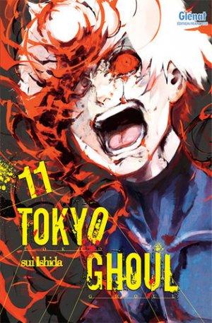 couverture, jaquette Tokyo Ghoul 11  (Glénat Manga)