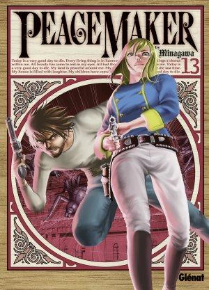 couverture, jaquette PeaceMaker 13  (Glénat Manga)