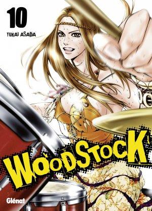 couverture, jaquette Woodstock 10  (Glénat Manga)