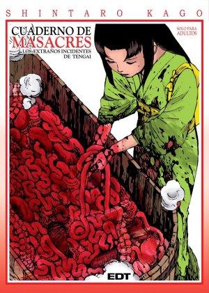 Carnets de Massacre, Les étranges incidents de Tengai édition Espagnole