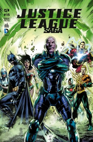 Justice League # 15 Kiosque mensuel