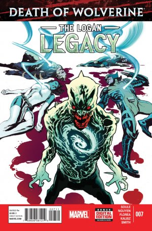 Death of Wolverine - The Logan Legacy # 7 Issues V1 (2014 - 2015)