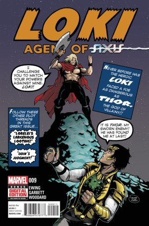 Loki - Agent d'Asgard # 9 Issues (2014 - 2015)
