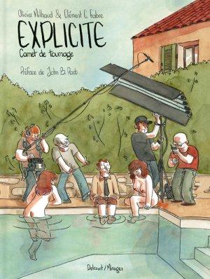 Explicite, Carnet de tournage édition simple