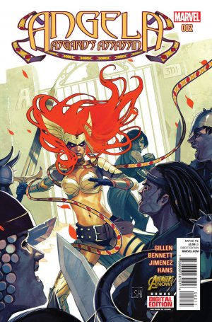 Angela - Asgard's Assassin # 2 Issues (2014 - 2015)