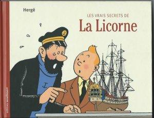 couverture, jaquette Tintin (Les aventures de) 1  - Les vrais secrets de La LicorneRéédition (Editions Moulinsart)