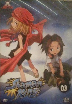 couverture, jaquette Shaman King 3  (Déclic images)