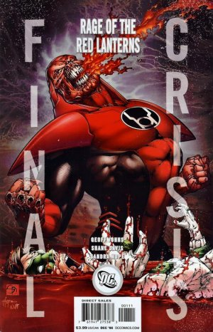 Final Crisis - Rage of the Red Lanterns édition Issues