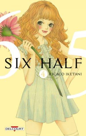 couverture, jaquette Six Half 4  (Delcourt Manga)