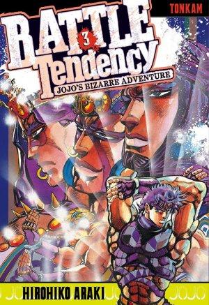 couverture, jaquette Jojo's Bizarre Adventure 3 Partie 2 Battle Tendency (Tonkam) Manga