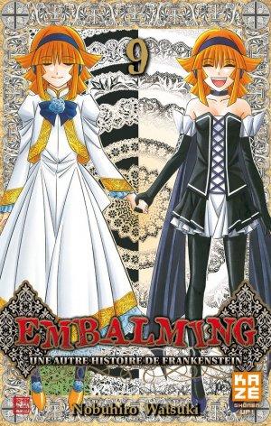 couverture, jaquette Embalming - Une Autre Histoire de Frankenstein 9  (kazé manga) Manga