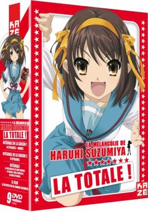 La Mélancolie de Haruhi Suzumiya édition Intégrale Saison 1 + 2