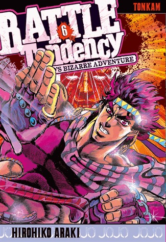 couverture, jaquette Jojo's Bizarre Adventure 6 Partie 2 Battle Tendency (Tonkam)