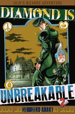 couverture, jaquette Jojo's Bizarre Adventure 2 Partie 4 Diamond is unbreakable (Tonkam) Manga