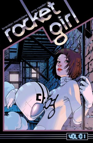 Rocket Girl édition TPB softcover (souple)