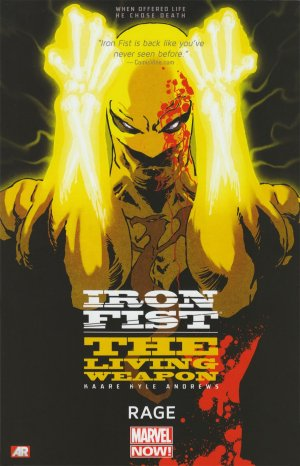 Iron Fist - The Living Weapon édition TPB softcover (souple)