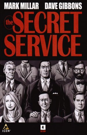 Kingsman - Services Secrets # 4 Issues