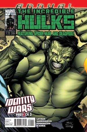 The Incredible Hulk édition Issues V1 - Suite - Annuals (2011)