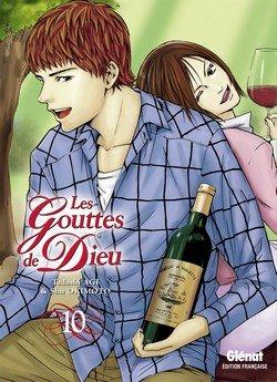 couverture, jaquette Les Gouttes de Dieu 10  (Glénat Manga)