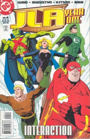 JLA - Year One # 4 Issues