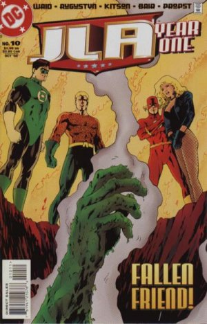 JLA - Year One # 10