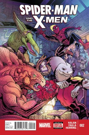 Spider-Man and The X-Men # 2 Issues (2014 - 2015)