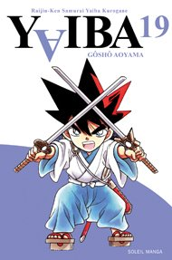 couverture, jaquette Yaiba 19  (soleil manga)