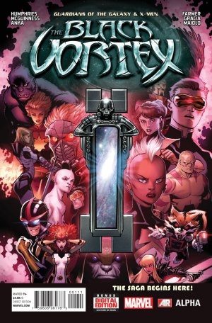 Guardians of the Galaxy and the X-Men - The black vortex Alpha # 1 Issues V1 (2015)
