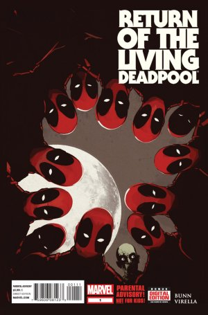 Deadpool – Le Retour du Deadpool-Vivant édition Issues (2015)