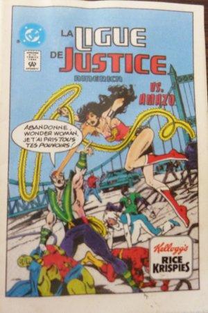 La ligue de justice America VS Amazo édition Limité