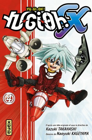 couverture, jaquette Yu-Gi-Oh! GX 4  (kana)