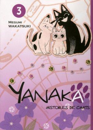 couverture, jaquette Yanaka, histoires de chats 3  (Komikku Editions)